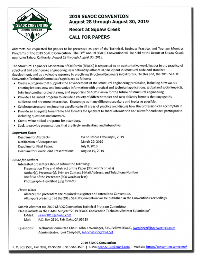 how to write an abstract for a call for papers